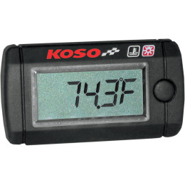 TEMP GAUGE MINI LCD - Lisämittarit - 877380 - 1