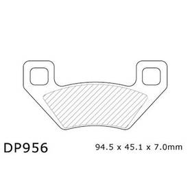 BRAKE PAD DP ATV DP956 - Jarrupalat - 874091 - 2