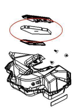 Moottorinosat moottorikelkan moottoriremonttiin