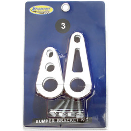 BRACKET KIT, BUMPER RED - Puskurit - 871379 - 1